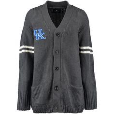 Kentucky Wildcats Let Loose by RNL Women's Boyfriend Letter Sweater - Charcoal - $56.04