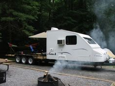 Lets See Your Trailers With Campers Homemade Page 4 And Off Road Forum David Carignan Toy Hauler