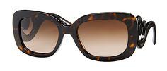 Prada 27OS Size 54 Rectangle Sunglasses