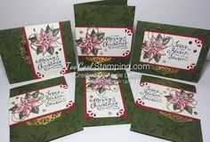 Countdown To Christmas: Reason For The Season  Mossy Meadow  Card Reason For The Season Photopolymer Stamp Set139730 Price: $21.00 Festive Flower Builder Punch139682 Price: $18.00