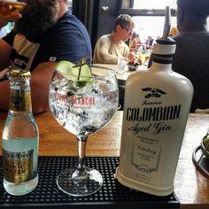 Momentazo @Colombian gin y @fevertree