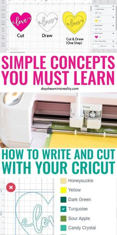 cricut crafts Today you will be learning something very simple, but extremely useful; we will be covering how to Write and Cut with both the Cricut Maker and Cricut Explore. So, no matte How To Use Cricut, Cricut Help, Cricut Air 2, Cricut Vinyl, Cricut Explore Projects, Cricut Explore Air 1, Circuit Crafts, Cricut Cuttlebug, Cricut Craft Room
