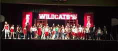 Tracy Bauer's set and costume work for High School Musical Jr. - Mishicot Middle School - Directed by Deanna Barkhaus. #LCOY