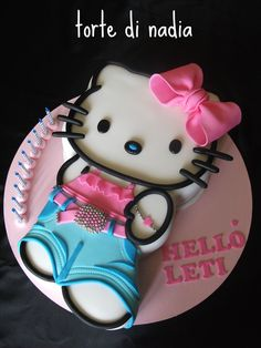 All sizes | HELLO KITTY JEANS CAKE FOR LETIZIA | Flickr - Photo Sharing!