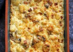 Sajtszószban sült, gombás gnocchi recept - Kifőztük, online gasztromagazin Gnocchi, Pizza, Cheese, Food, Essen, Meals, Yemek, Eten