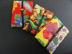 Zizi Santos: Caderno encapado com tecido
