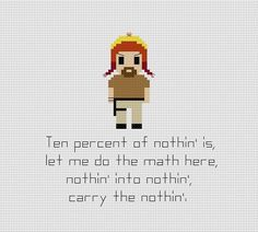 Hey, I found this really awesome Etsy listing at https://www.etsy.com/listing/191895984/firefly-jayne-cobb-quote-cross-stitch