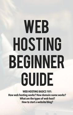 Web Hosting Basics 101: Learn how web hosting works, how domain name works…