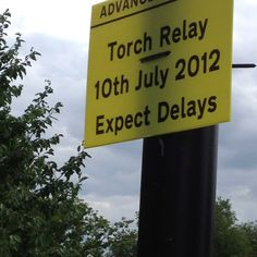 Olympic torch route