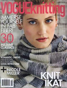 Vogue Knitting Early Fall 2013
