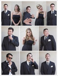 This is so beyond funny-cool pics of the wedding party.  haha