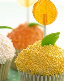 Lollipop Cupcakes Recipe