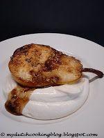 The Dutch Table: Gebakken Peren Baked Pears with a Caramel Hazelnut Sauce