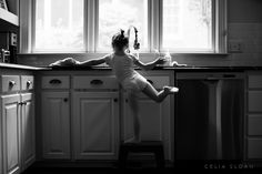 Child Photography, Everyday DocumentaryOctober 12, 2015 cleaning ballerina By Celia Sloan