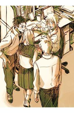 Naruto Run, Naruto Teams, Naruto And Hinata, Anime Naruto, Kakashi Hatake, Shikamaru, Naruto Shippuden, Team Minato, Butler Anime