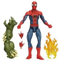 Amazon.com: Marvel The Amazing Spider-Man 2 Marvel Legends Infinite Series The Amazing Spider-Man Figure 6 Inches: Toys & Games