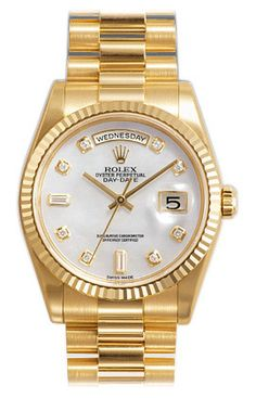 ZAEGER - Rolex Day Date Mother of Pearl Diamond Dial 118238, (http://www.zaeger.com.au/all-watches/rolex-day-date-mother-of-pearl-diamond-dial-118238/)