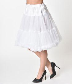 ba364320e98f6 1950s Style Black Tea Length Ruffled Chiffon Petticoat Crinoline in 2019 |  XD | Chiffon ruffle, 1950s fashion dresses, 1950s outfits