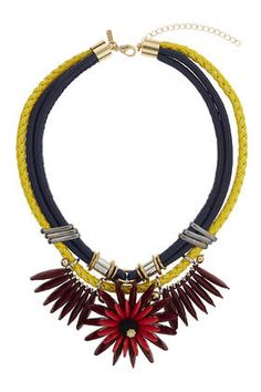 Flower Rope Collar Necklace $40  http://us.topshop.com/en/tsus/product/bags-accessories-1702229/jewelry-70524/flower-rope-collar-necklace-4001744?bi=1&ps=200