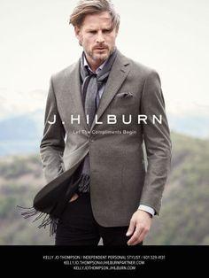 Pin by Kelly Jo Thompson on Men\'s Style J.Hilburn | Pinterest