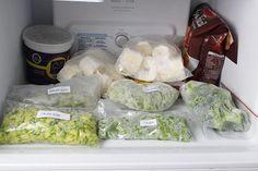 Como congelar alimentos e fazer o branqueamento em vegetaiscrus para conservá-los por mais tempo e com nutrientes.