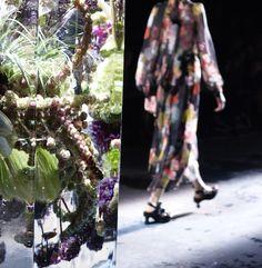 Dries Van Noten Put Florals on Ice for Paris Fashion Week. Ice SculpturesAzuma  MakotoExhibitionSs ...