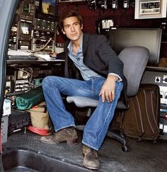 """David Muir - every time he's on the news i say """"oh he's handsome!"""" and pay a little more attention."""