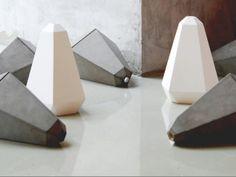 PORTLAND - Cement pendant lamp, design by James Bartlett