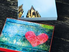 DIY Anleitung: Foto-Bild auf Holz-Leinwand anfertigen // DIY tutorial: photo on wooden canvas via DaWanda.com