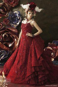 Red wedding dresses 2011   by Stella de Libero