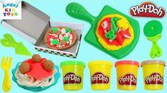 Đồ chơi trẻ em Play Doh Pizza Party Play Dough Fiesta de Las Pizzas Pizz...