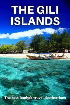 The Gili Islands are a group of 3 tiny islands – Gili Trawangan, Gili Meno and Gili Air – in Indonesia, near the coast of northwest Lombok Island. Characterized by sandy beaches fringed with palm trees, they're known for their coral reefs just offshore. . #lombok #indonesia #travel #traveldreams #giliislands #island #nature #bucketlist #travelinspirations #packing #traveltip #traveling #travelphotography Travel Images, Travel Pictures, Travel Around The World, Around The Worlds, Travel Tips, Travel Destinations, Gili Air, Roads And Streets, Gili Trawangan