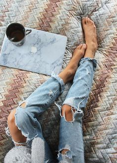 How To Boho: RIPPED DENIM