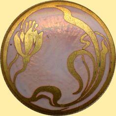 Basse Taille Art Nouveau   'button'