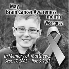 Matthew's life was cut short today by incurable DIPG brain cancer.  R,I.P. sweet boy.  Fly high!