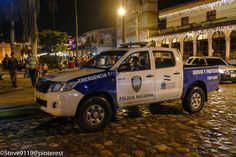 Policia Nacional @ Copan, Honduras