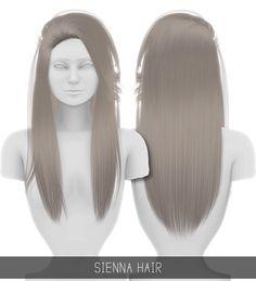 Simpliciaty: Sienna hair - Sims 4 Hairs - http://sims4hairs.com/simpliciaty-sienna-hair/