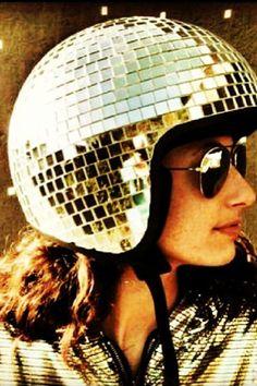 Moped helmut inspiration