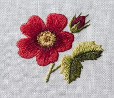 Hand Embroidery Dress, Diy Embroidery Kit, Hand Embroidery Tutorial, Butterfly Embroidery, Flower Embroidery Designs, Hand Embroidery Stitches, Embroidery Fabric, Cross Stitch Embroidery, Machine Embroidery Designs