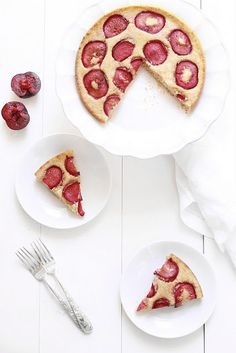 Plum Kuchen! Good Food, Yummy Food, Plum Cake, Seasonal Food, Breakfast Items, Brunch Recipes, Brunch Food, Summer Of Love, Let Them Eat Cake