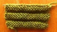 How to Knit the Welt Stitch