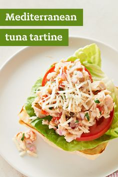 ... tuna tartine the family may not know what a tartine is