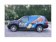 Partial Vehicle Wrap - Miller Lite