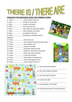 Based on animal vocabulary - ESL worksheets