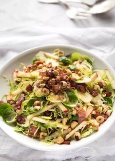 Brussel Sprout Salad - RecipeTin Eats
