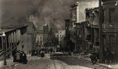 VINTAGE 1906 ARNOLD GENTHE SAN FRANCISCO EARTHQUAKE PHOTOGRAPH