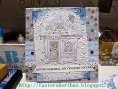Fasters korthus: Christmas House card