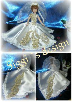 Brautkleid 10 - Handarbeit