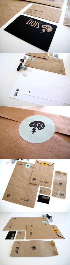 Identidade Visual estúdio Dois Design