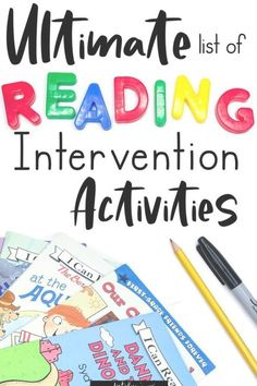Reading Intervention Activities for Struggling Readers - Katelyn& Learning ., EDUCATİON, Reading Intervention Activities for Struggling Readers - Katelyn& Learning Studio. Reading Intervention Activities, Guided Reading Activities, Reading Tutoring, Guided Reading Lessons, Phonics Activities, Reading Skills, Teaching Reading, Teaching Kindergarten, How To Teach Reading